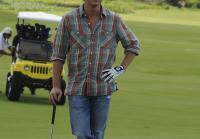 Jim goes  golfing