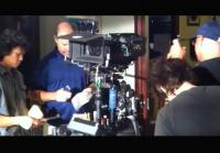 Uriah Shelton throws Matt Passmore in dojo scene