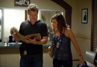 Callie and Jim working on case together