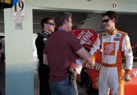 Jim meets Joey Logano and Carl Edwards