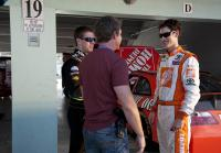 Longworth chats with pro racers