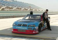 Longworth gets ready for racecar ride