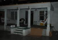 Callie's front porch built in house