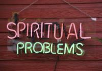 Sign advertises psychics in Cassadaga