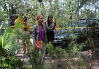 Colleen and Jennifer arrive at crime scene