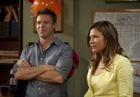 Callie visits Jim at station