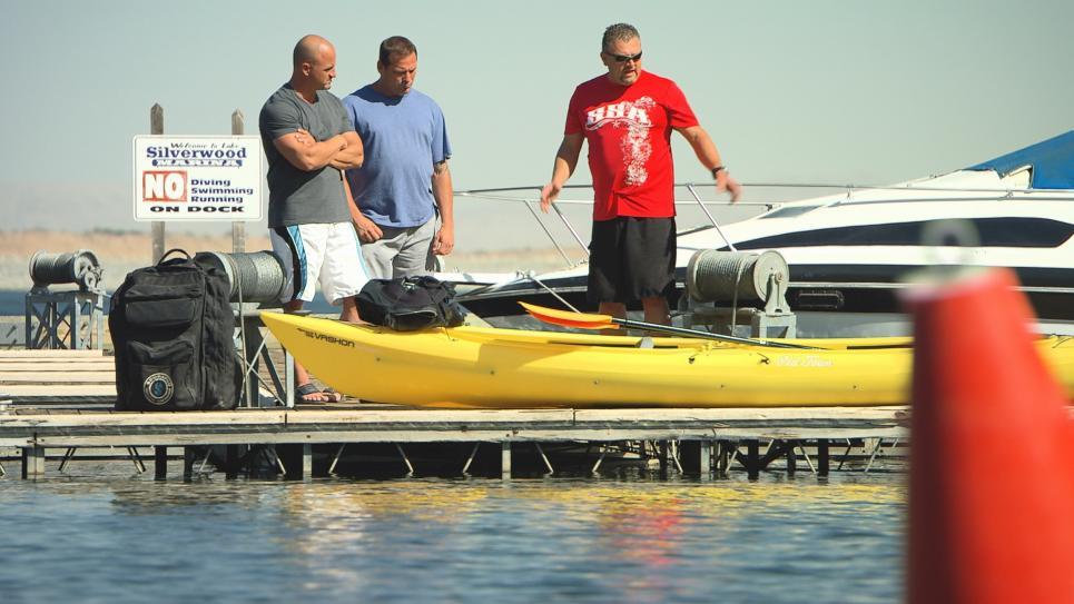 Barter Kings trade for kayak
