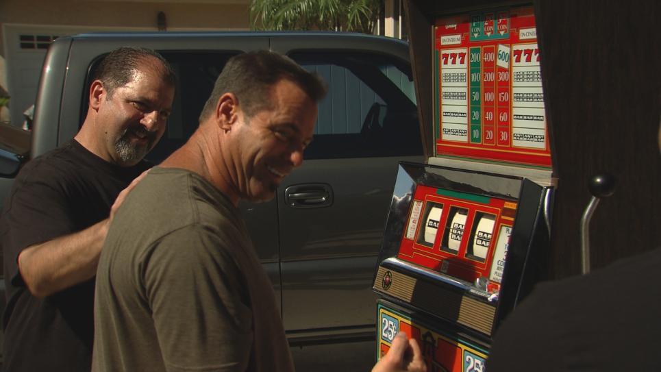 Barterers consider vintage slot machine
