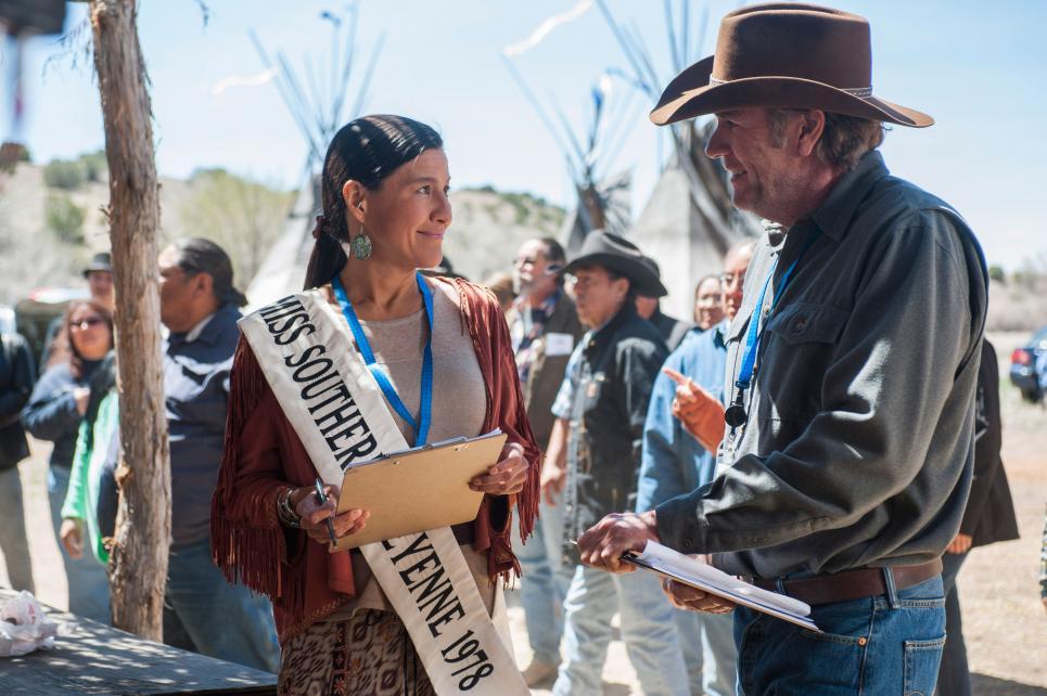 Walt and former Miss Cheyenne, Neena Wapasha