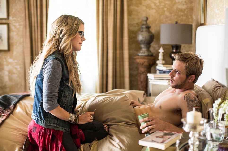 Jodi offers Dylan an herbal remedy