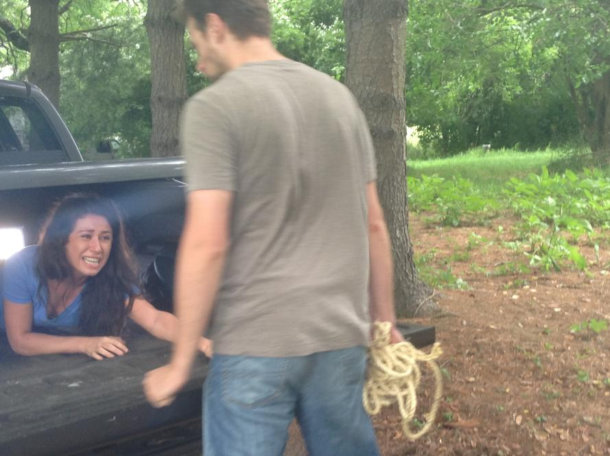 Nathan Traps Cassie in the Trunk