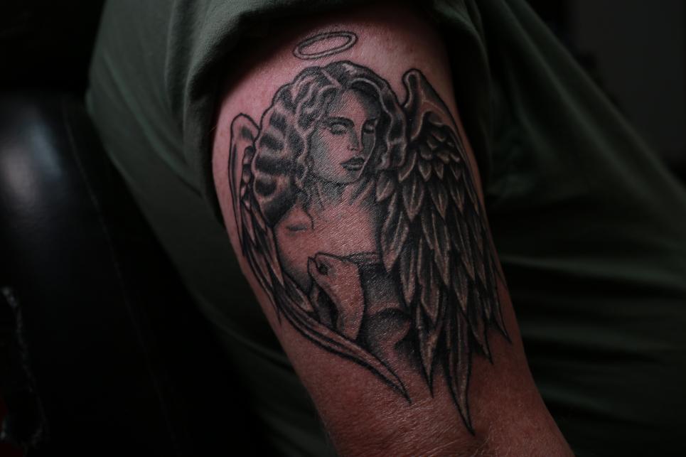 Tim's Tattoo After