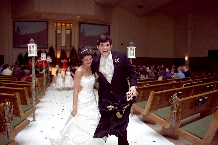 John David on His Wedding Day