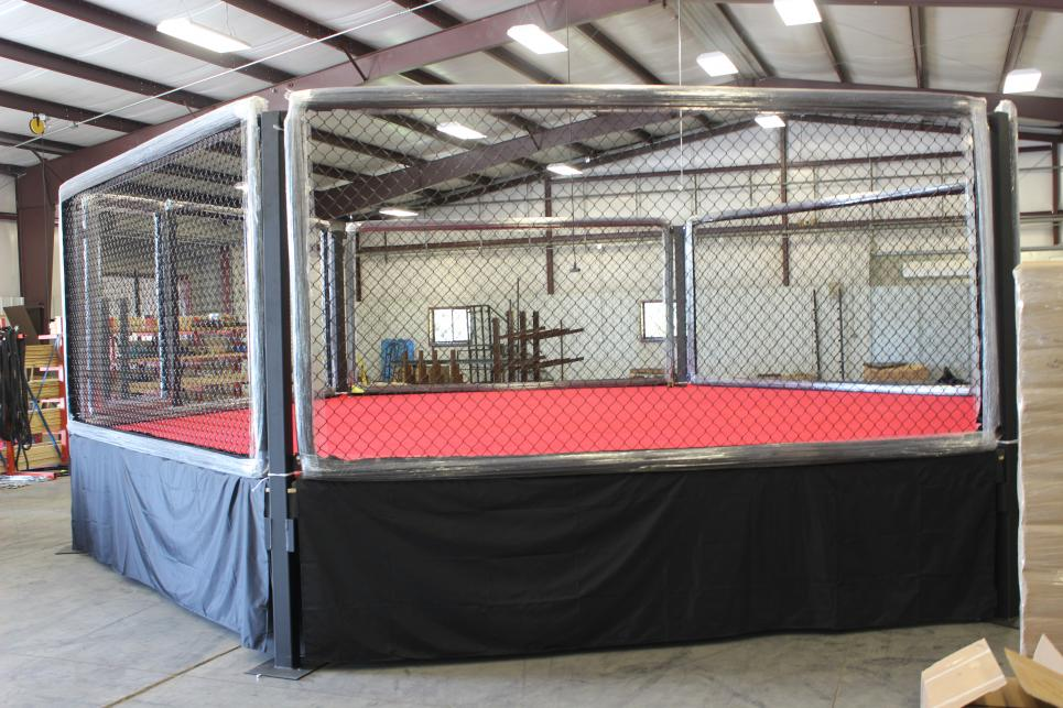The MMA Cage Chris and Robbie Will Ship