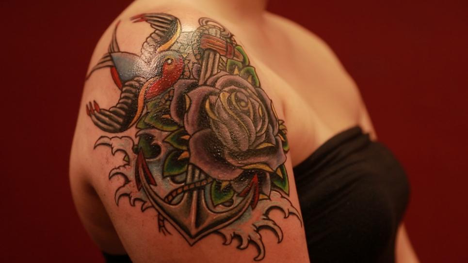 Kayleigh's Tattoo After