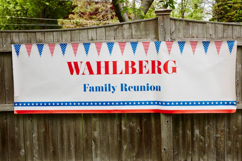 The Wahlberg reunion begins
