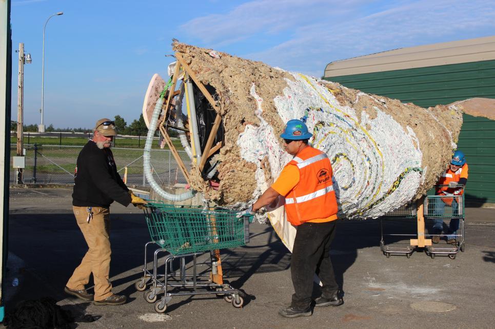 Marc Moves Plastic Bag Whale