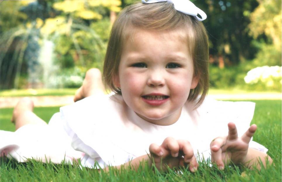 Priscilla in the Grass
