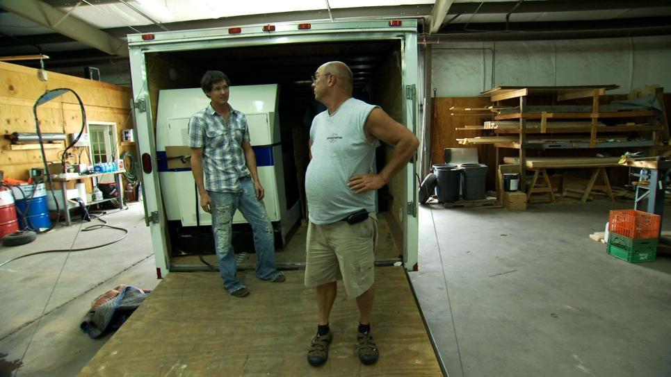 Jarrett and Steve Pack Flight Simulator