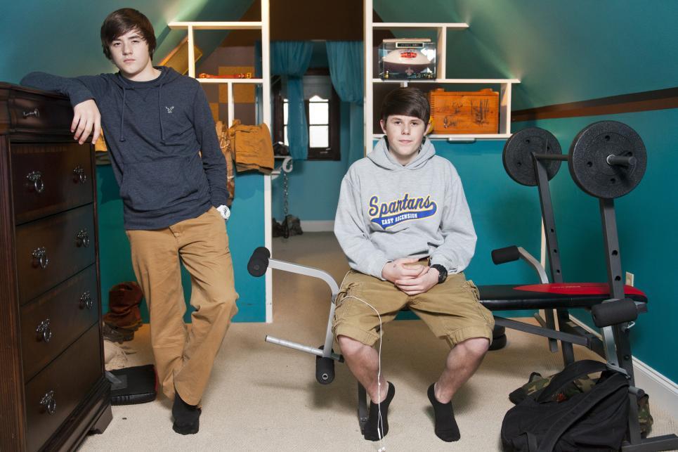 Logan and Trevor