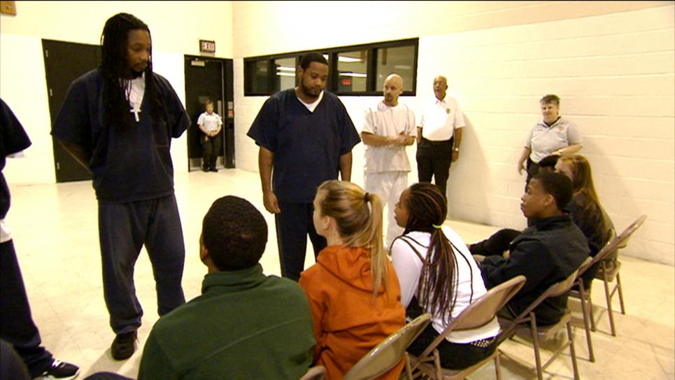 Inmate Ross Confronts Teens