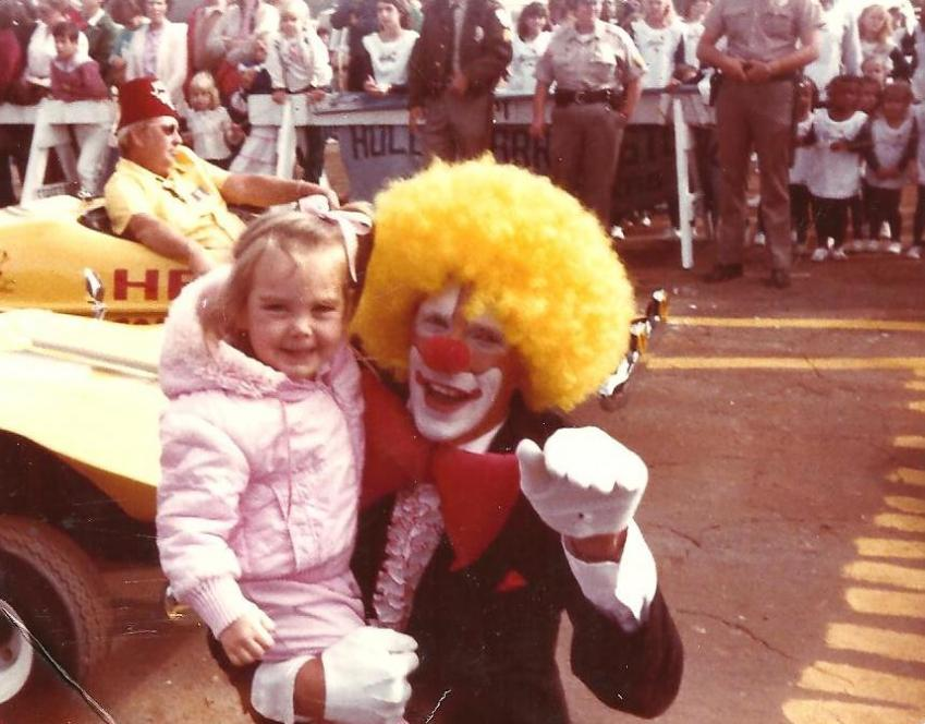 Baby Jessica and Clown