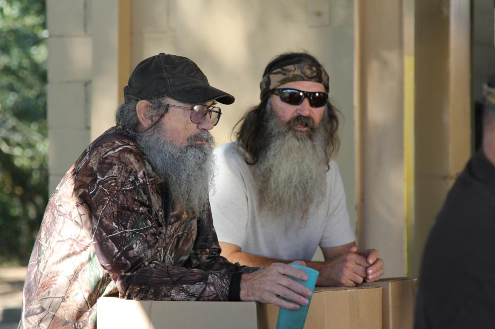 Si and Phil at the Loading Dock