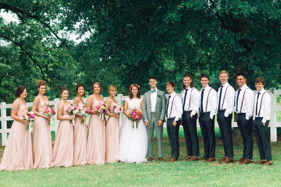 Big group ceo wedding