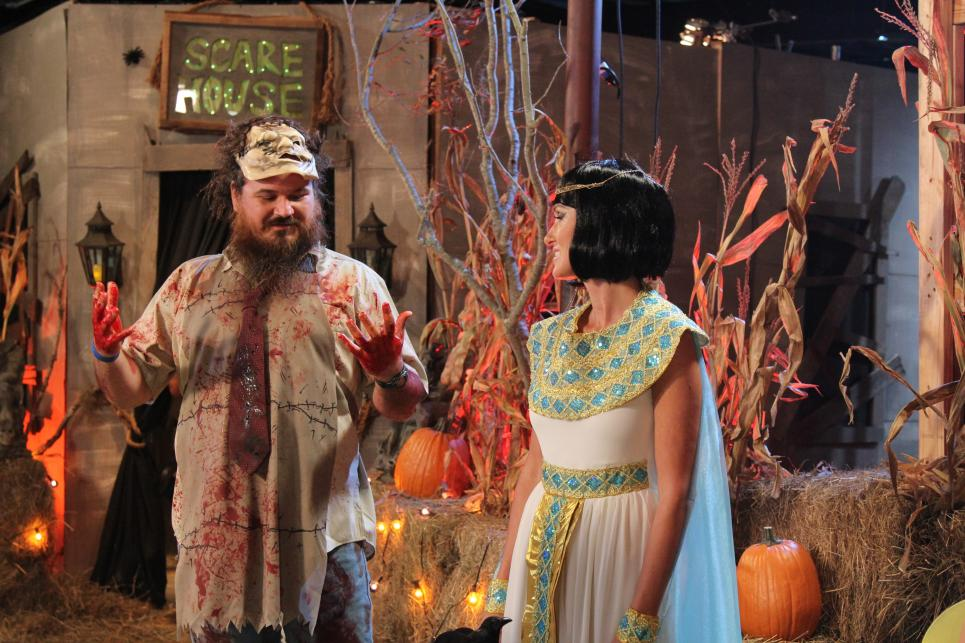 Martin and Korie in Costume