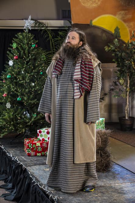 Willie Dressed as Joseph