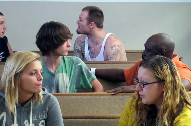 Delinquent Teens Meet Criminals
