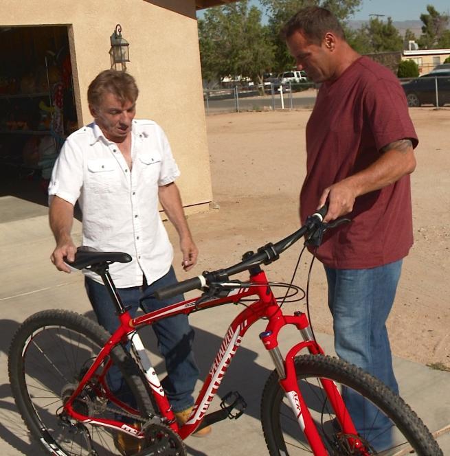 Antonio meet mountain bike owner