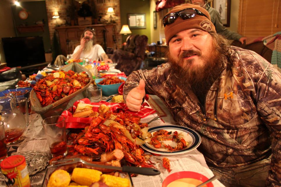 Martin with Crawfish