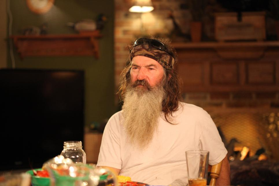 Phil Robertson at Dinner