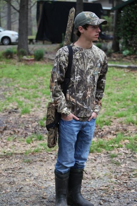 Sadie's boyfriend Beau is skilled hunter