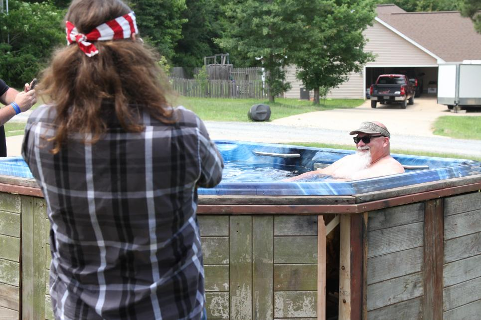 Godwin's New Hot Tub