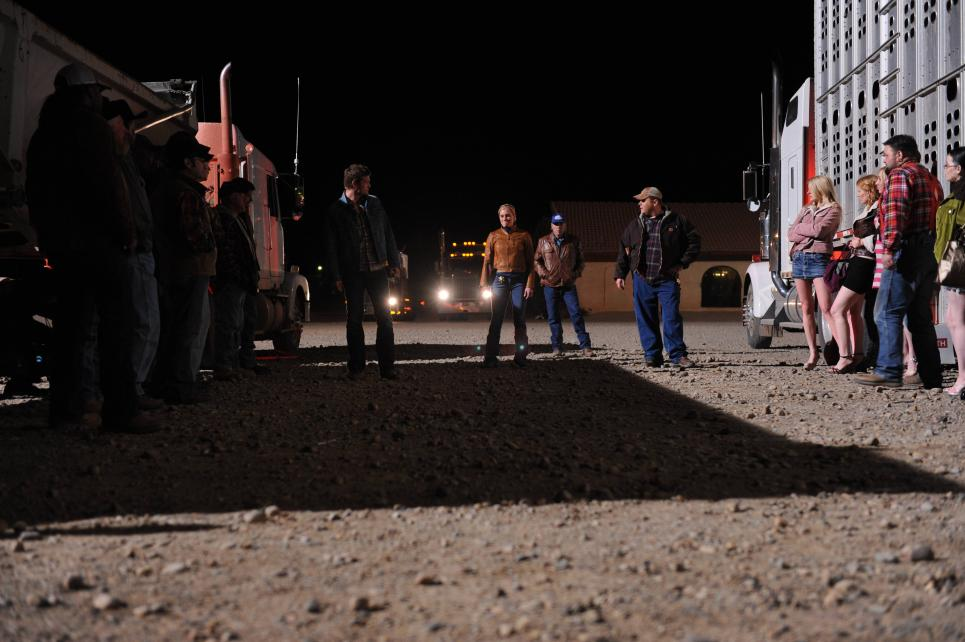 Walt and team have prostitutes line up