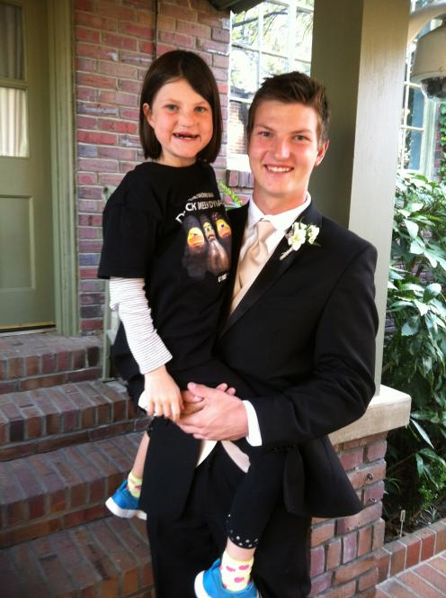 Reed and Mia Before Dance