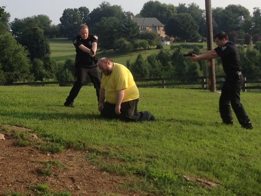 Officers Capture Stacey Jones
