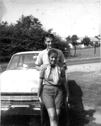 A young Phil and Kay date