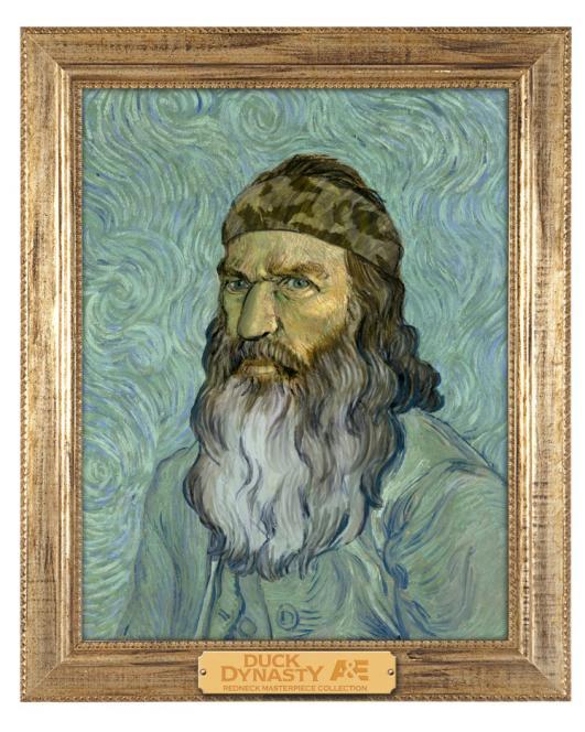 Phil as portrait of van Gogh