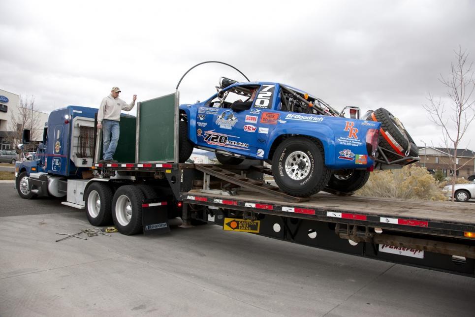 Marc ships racing truck