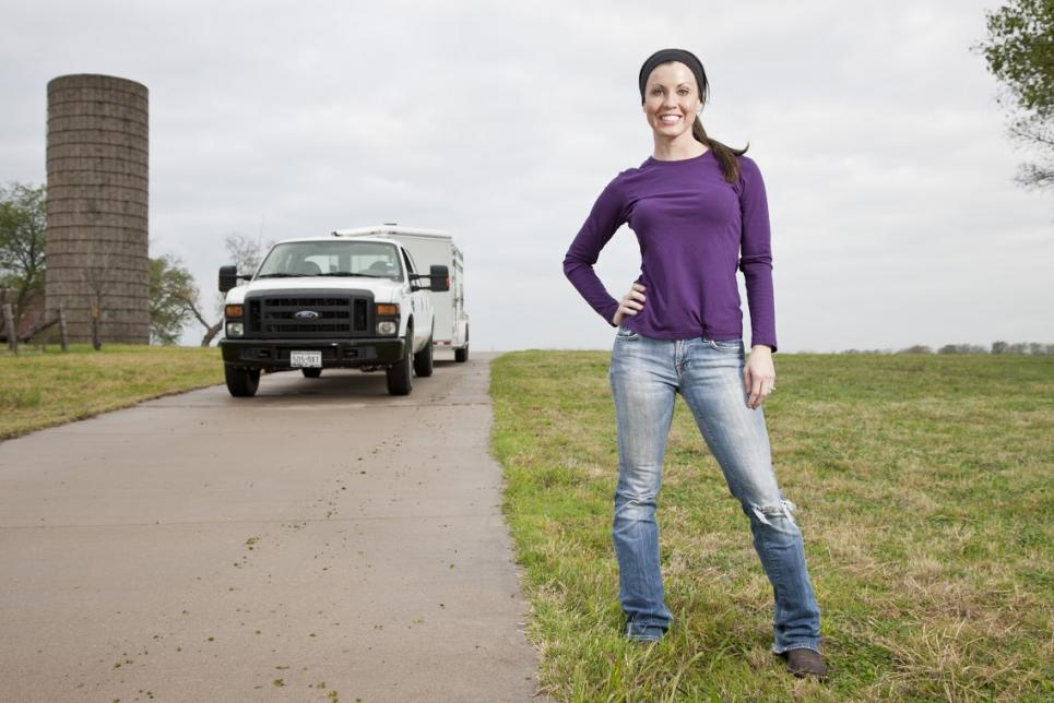 Jennifer Brennan grew up on cattle ranch