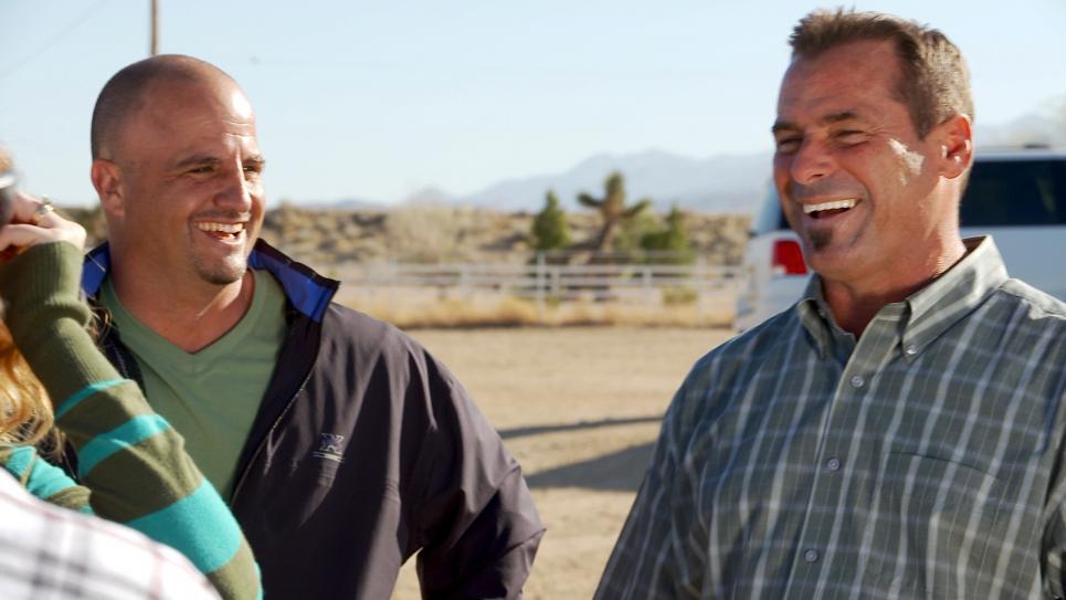 Antonio trades horse trailer for horse