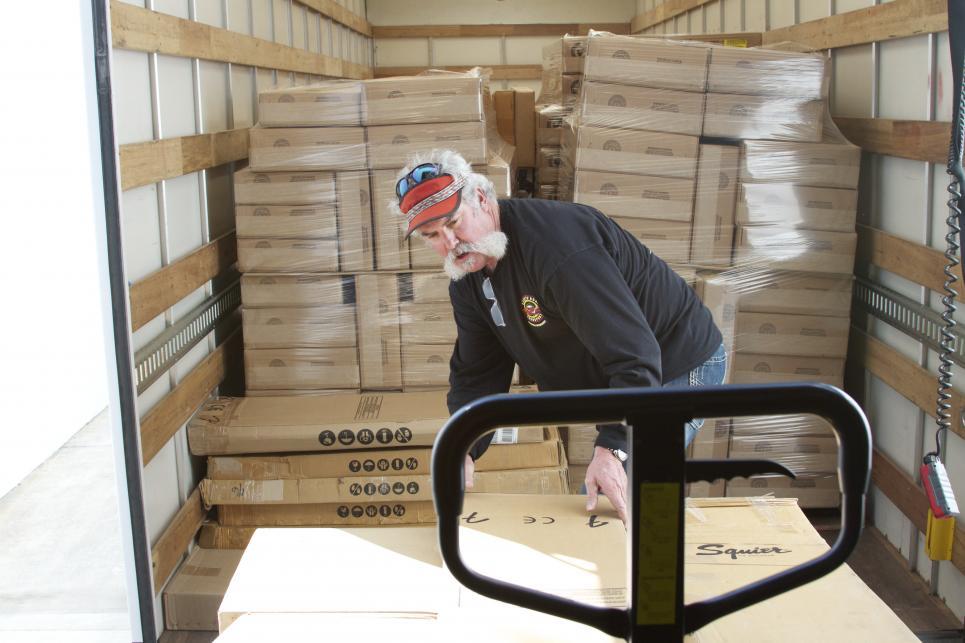Marc Loads Bigger Truck