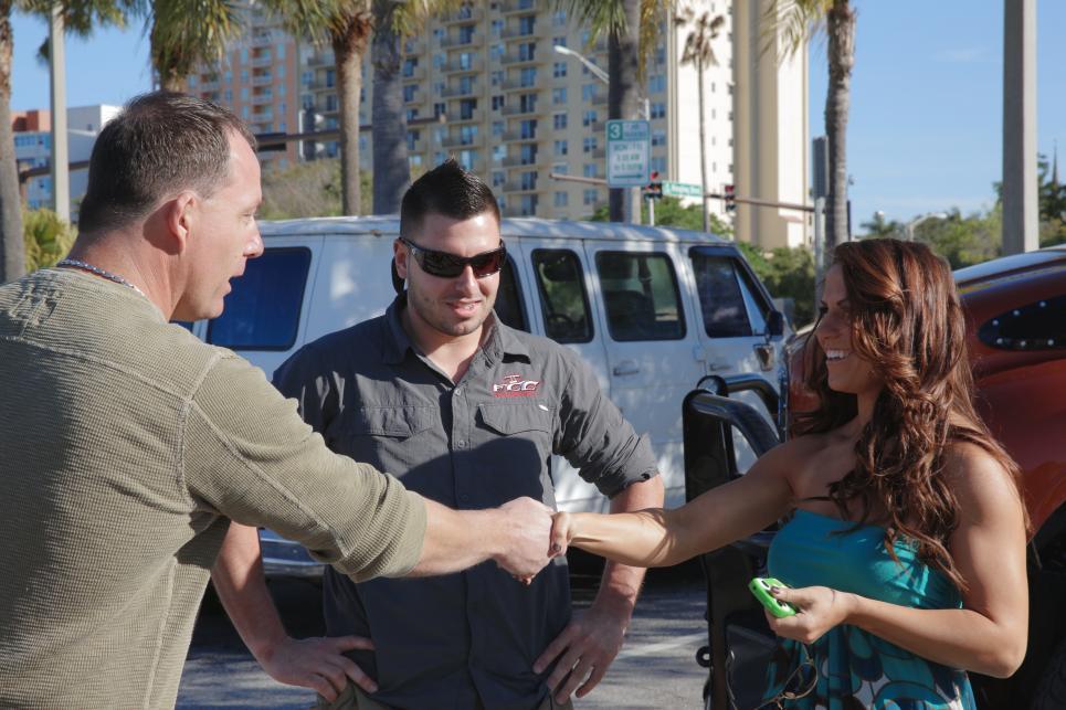 Chris and Robbie Meet Boat Broker