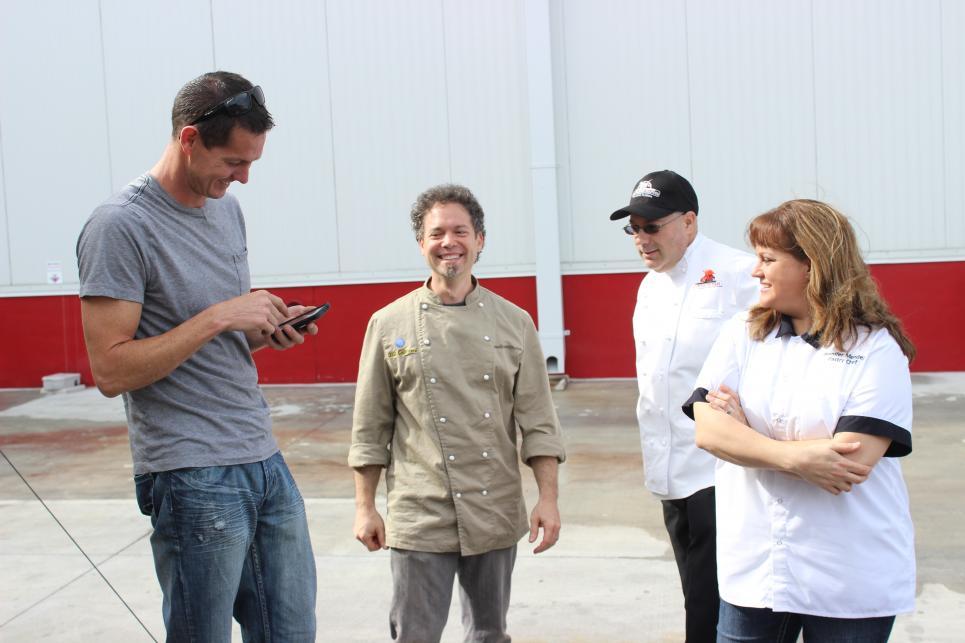 Jarrett with Cake Makers