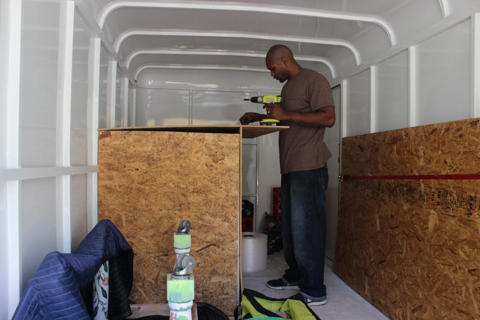 Kourtney Secures Large Dollhouse