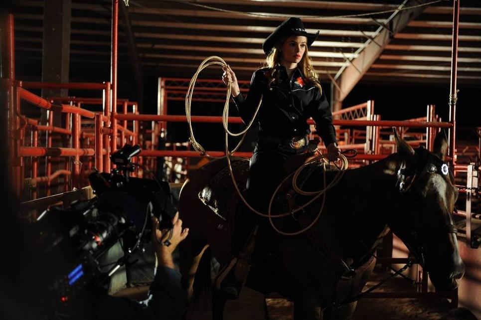 Holly at Rodeo