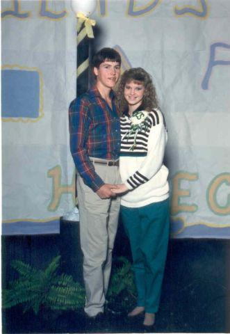 Missy and Jase were high school sweethearts